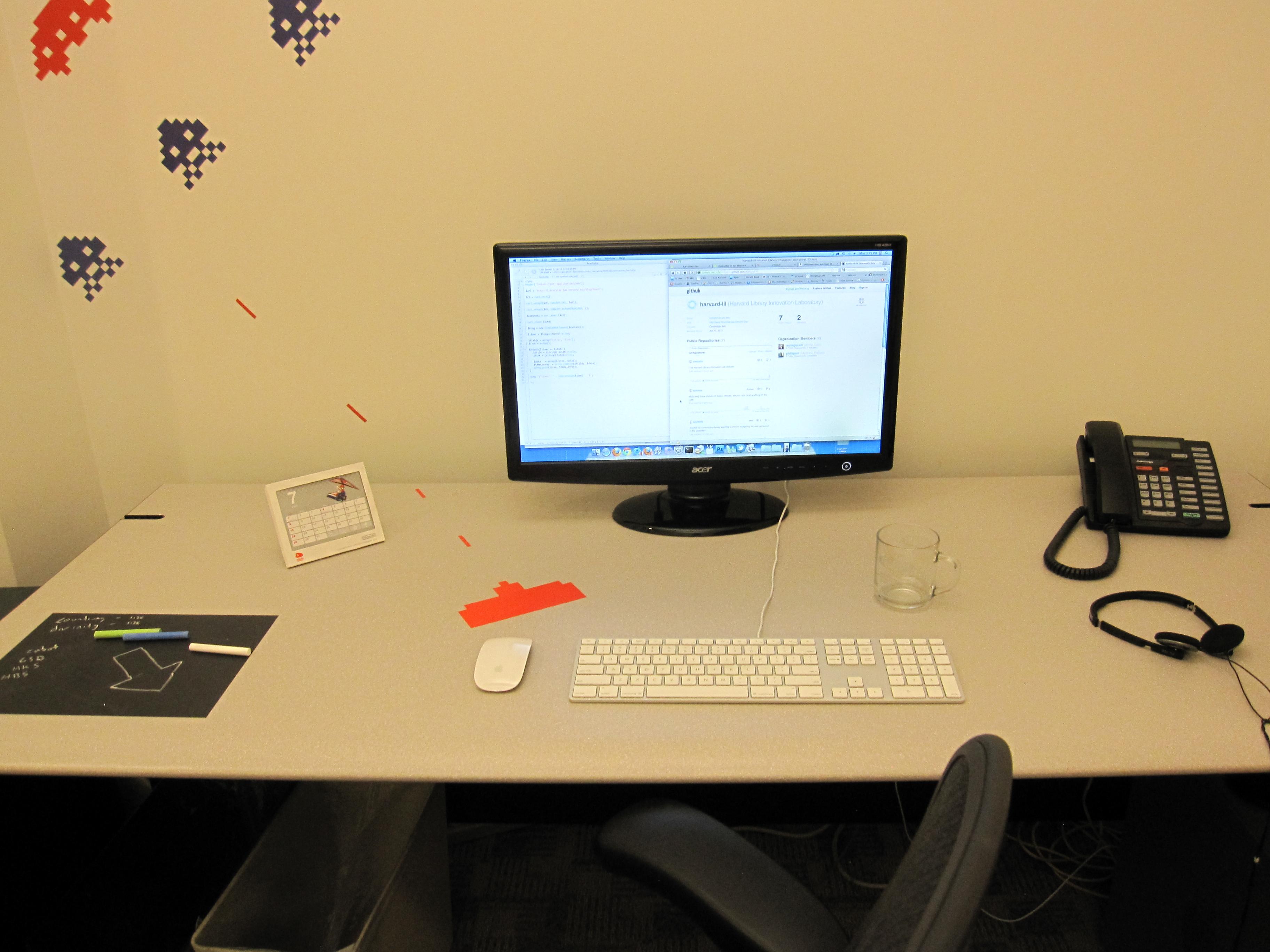 Setup Annie Desk